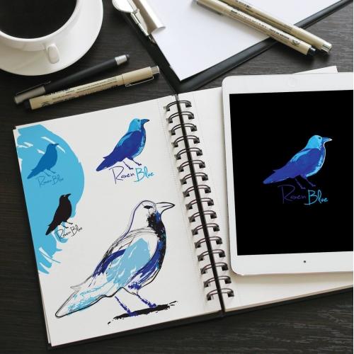 Raven Blue LOGO